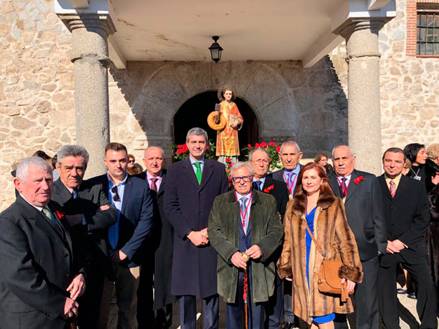 Álvaro Gutiérrez, en las fiestas patronales de Paredes de Escalona - Ayuntamiento de Paredes de Escalona