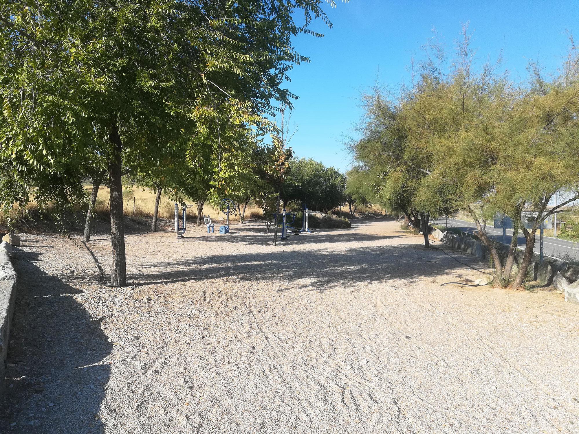 Área de Bienestar Social - Parque gimnasia - Ayuntamiento de Paredes de Escalona
