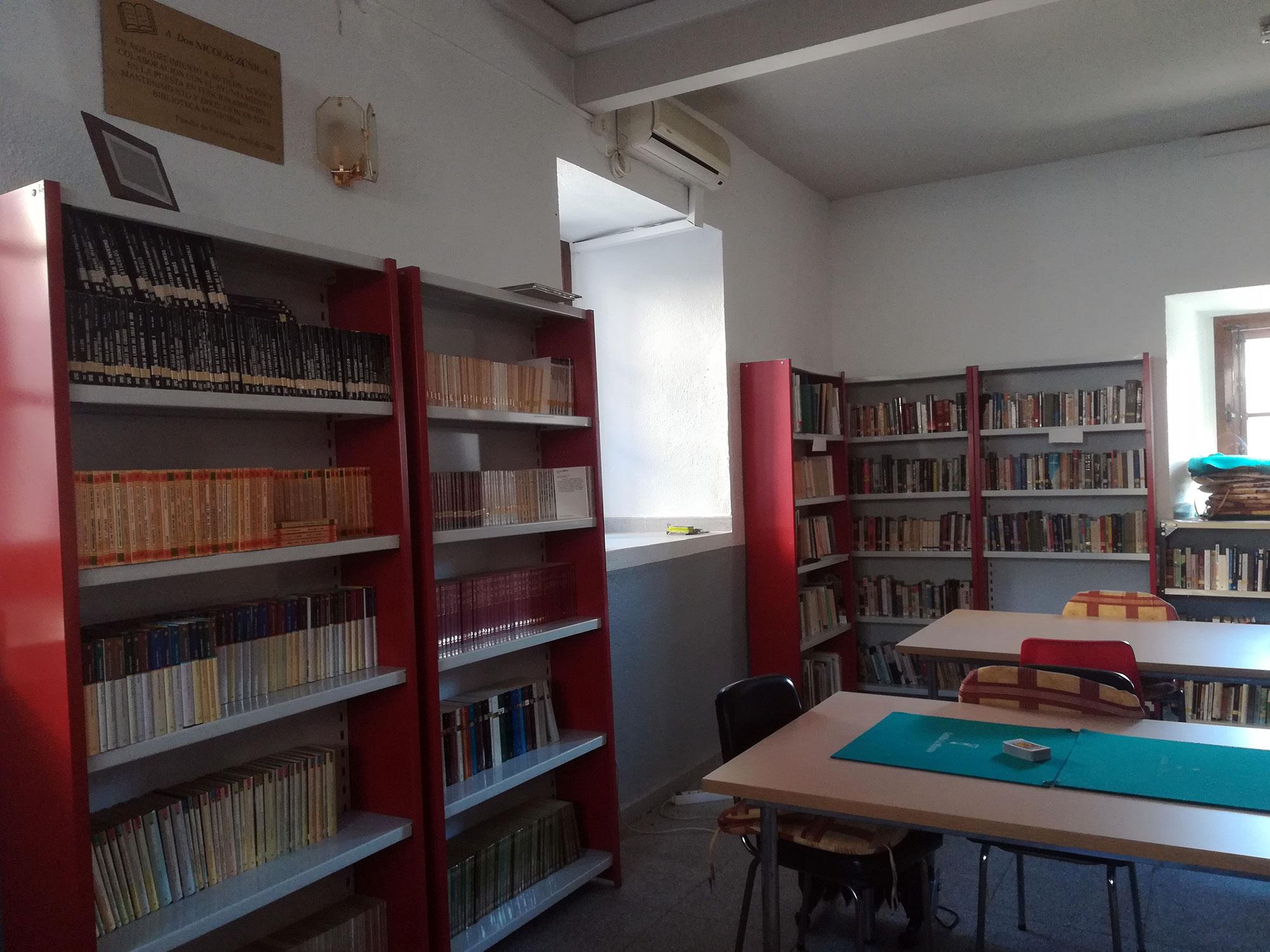 Área de Cultura - Biblioteca - Ayuntamiento de Paredes de Escalona